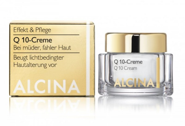 ALCINA E Q10-CREME - Schenkt müder, fahler Haut Energie mit Q10 50 ml