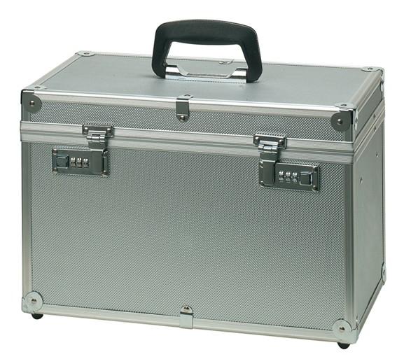Comair Werkzeugkoffer Aluminium silber HBT 27,5x40,0x21,5
