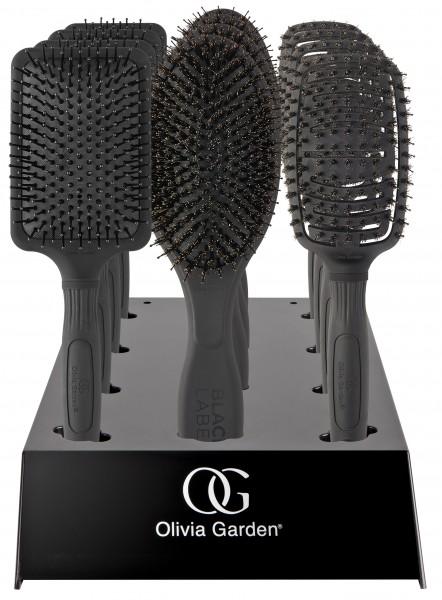 Olivia Garden Black Label Paddle 12er Display