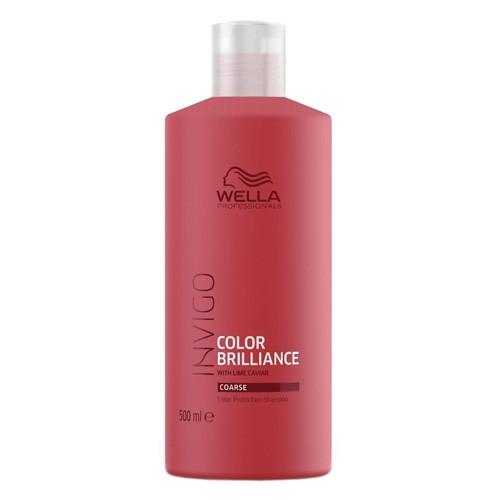 Wella Invigo Brilliance Shampoo 500ml Coarse Sondergröße XXL