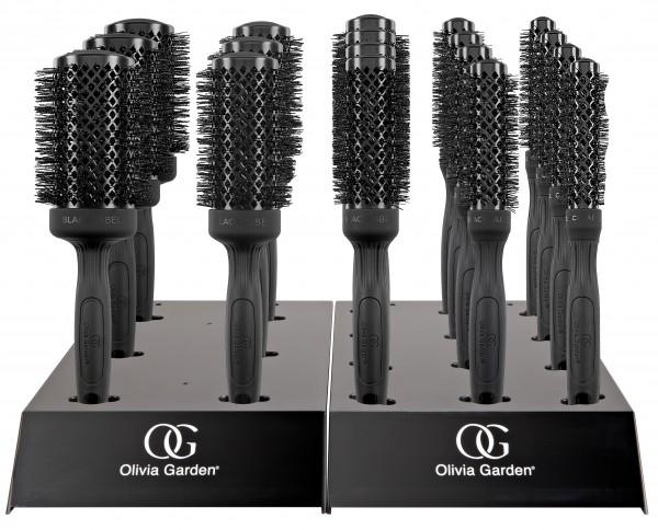 Olivia Garden Black Label Thermal 18er Display