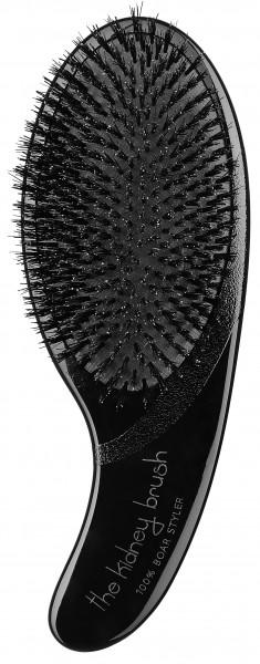Olivia Garden Kidney Brush 100 % Boar schwarz