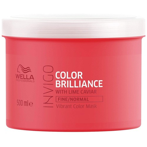 Wella Invigo Color Brilliance Vibrant Color Maske Fine/Normal 500ml