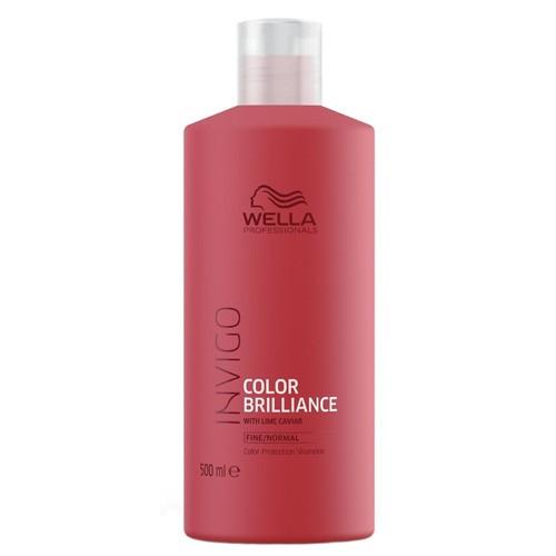 Wella Invigo Brilliance Shampoo 500ml Fine/Normal Sondergröße XXL