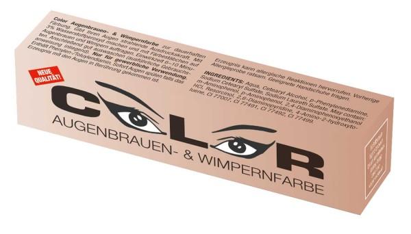Comair Color Augenbrauen- & Wimpernfarbe lichtbraun 15 ml