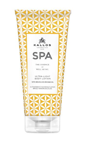 Kallos Spa Ultra Light Bodylotion mit Brasil-Orangenöl 200 ml
