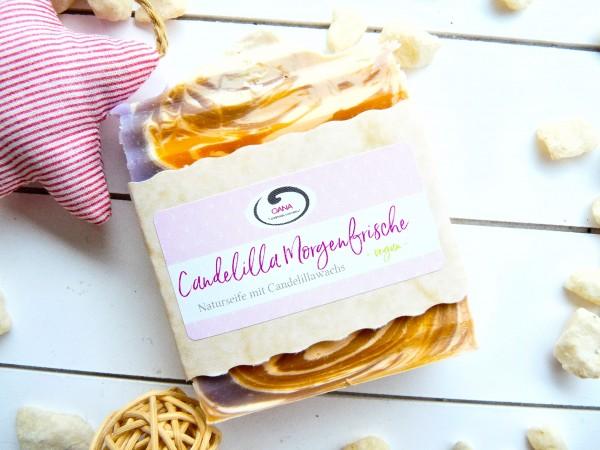 OANA Handmade Naturseife Candelilla Morgenfrische, vegan, 100 g