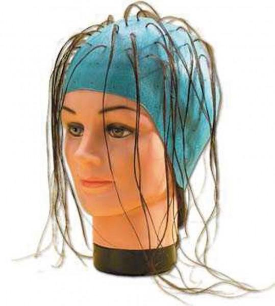 Fripac Gummi-Strähnenhaube blau