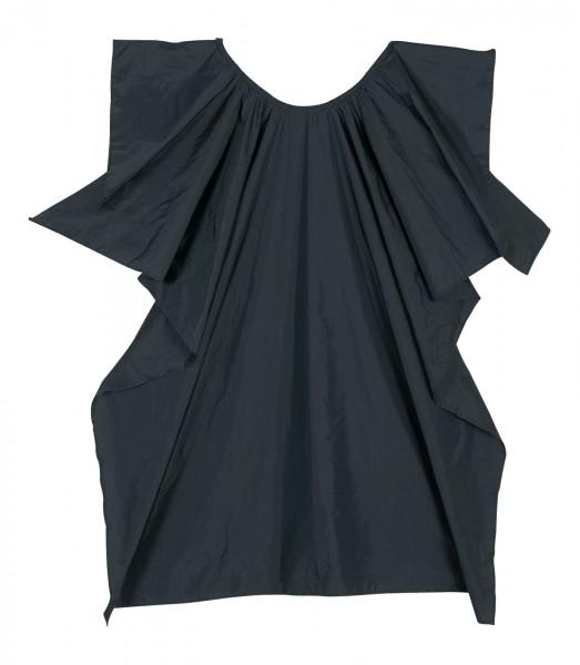 Comair Umhang Salon Nylon schwarz wasserabweisend mit Haken 110x140cm