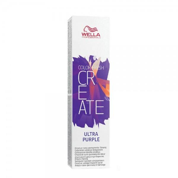 Wella CF Create Ultra Purple 60ml Color Fresh