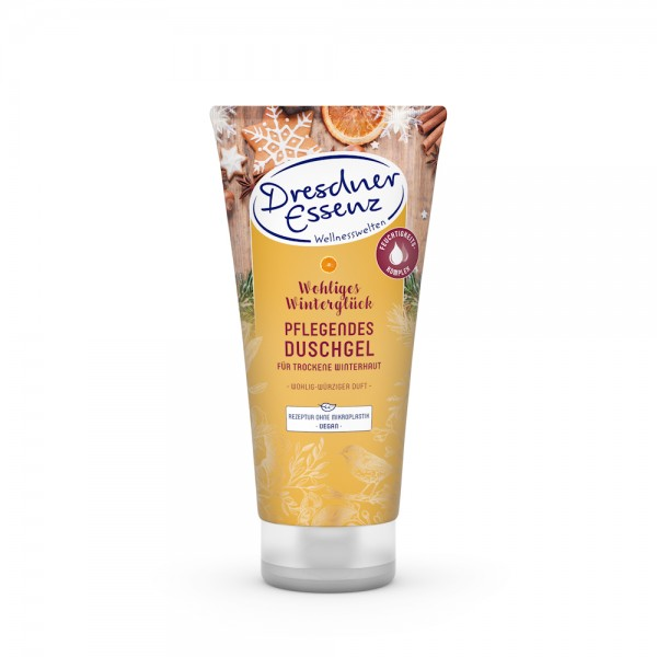 Dresdner Essenz Dusche - wohliges Winterglück - Zimt, Orange, Nelken 200 ml