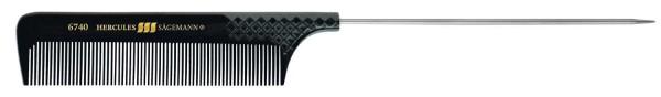 """HERCULES 6740 9 1/2""""Nadelstielkamm mit langer Nadel 12cm und griffraster"""