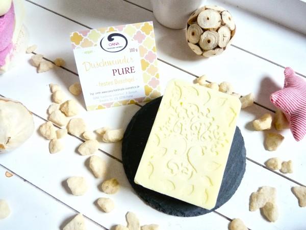 OANA Handmade Duschwunder für Pure 100g, verpackt in Zellglastüte