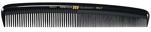 """HERCULES 623-394 7"""" Herrenkamm fester runder Rücken"""