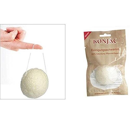 Solida Konjac-Schwamm reines Naturprodukt zur Haut-und Gesichtspflege/Peeling