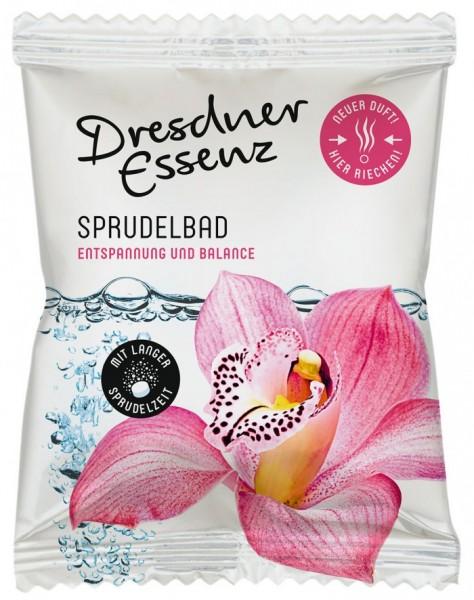 """Dresdner Essenz Sprudelbad """"Entspannung und Balance"""" Orchidee/Magnolie/Ebenholz 70 g"""
