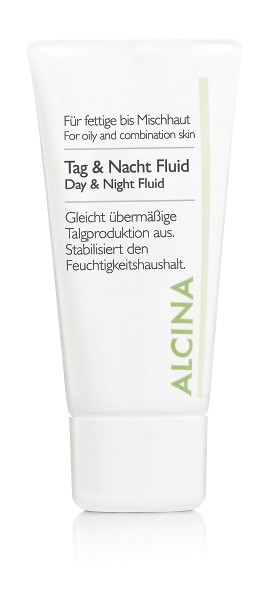 Alcina Tag & Nacht Fluid für fettige bis Mischhaut