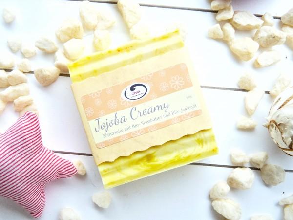 OANA Handmade Naturseife Jojoba Creamy, vegan, 100 g