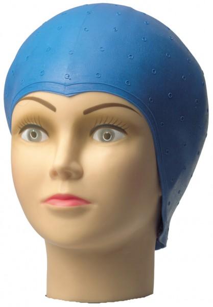Comair Strähnenhaube blau mit Lochstanzung