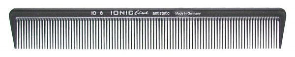 """HERCULES IO8 7 1/2"""" Haarschneidekamm Ionic Line starker Rücken feinzahnung"""