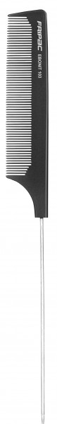 Fripac Matte Black 103 Nadelstielkamm fein, 24 cm
