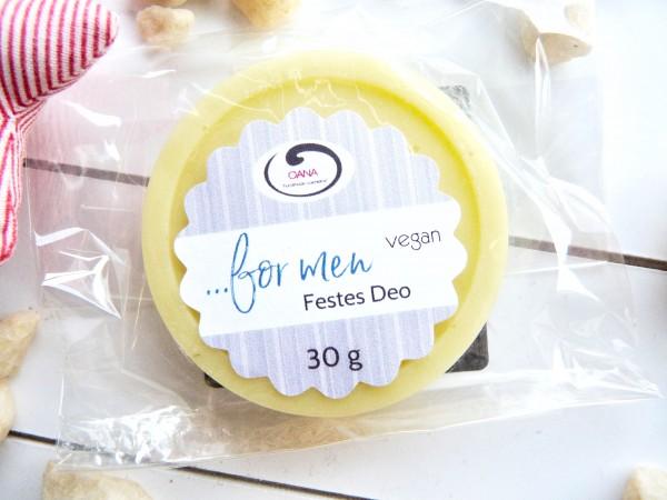 OANA Handmade Festes Deo ...for men, 30 g, vegan