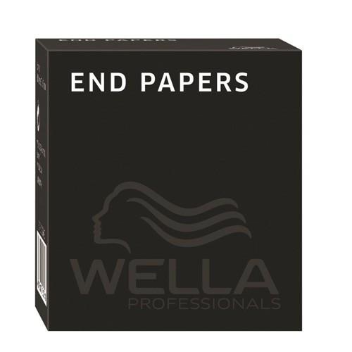 Wella End Papers 5 Boxen à 500 Blatt