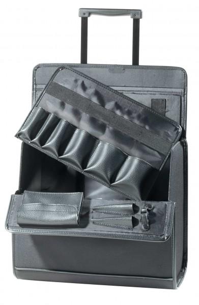 Comair Werkzeugkoffer Lock Stoff schwarz HBT 38x42x23