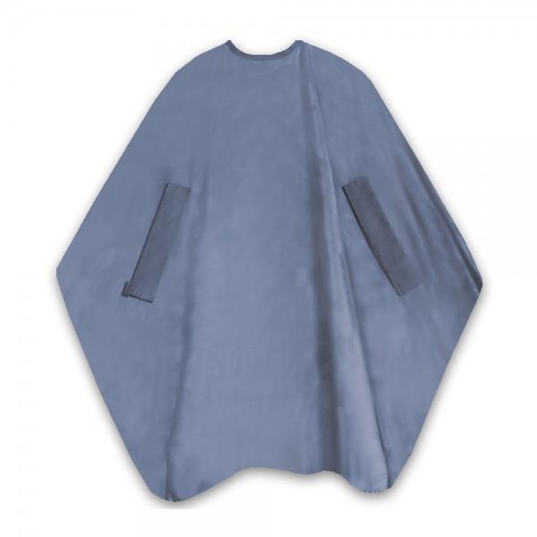T.D. Nano Air uni grau Schneideumhang 135x150 cm 100% Polyester