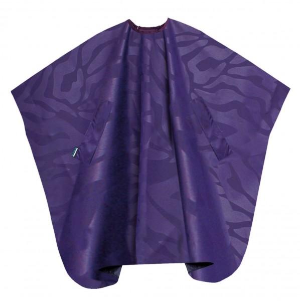 T.D. Färbeumhang Nano compact violett mit Hakenverschluss
