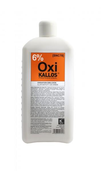 Kallos Cosmetics Kjmn Hydrogen-Peroxid Emulsion 6% 1000 ml