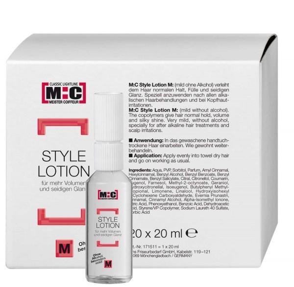 M:C Style Lotion M 20ml mild Fönlotion