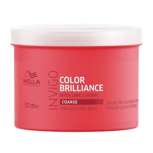 Wella Invigo Color Brilliance Vibrant Color Maske Coarse 500ml